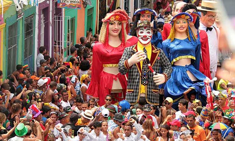 Карнавал в Олінда, Бразилія