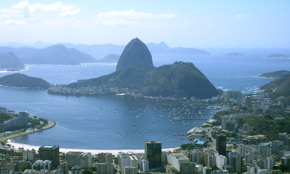Цукрова голова, Бразилія