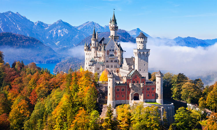 Баварія, Замок Нойшвайнштайн, Німеччина