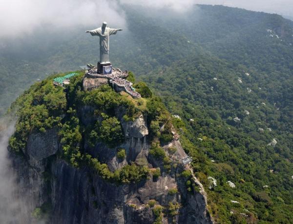 Гора Корковаду, Іісус Христос, Бразилія