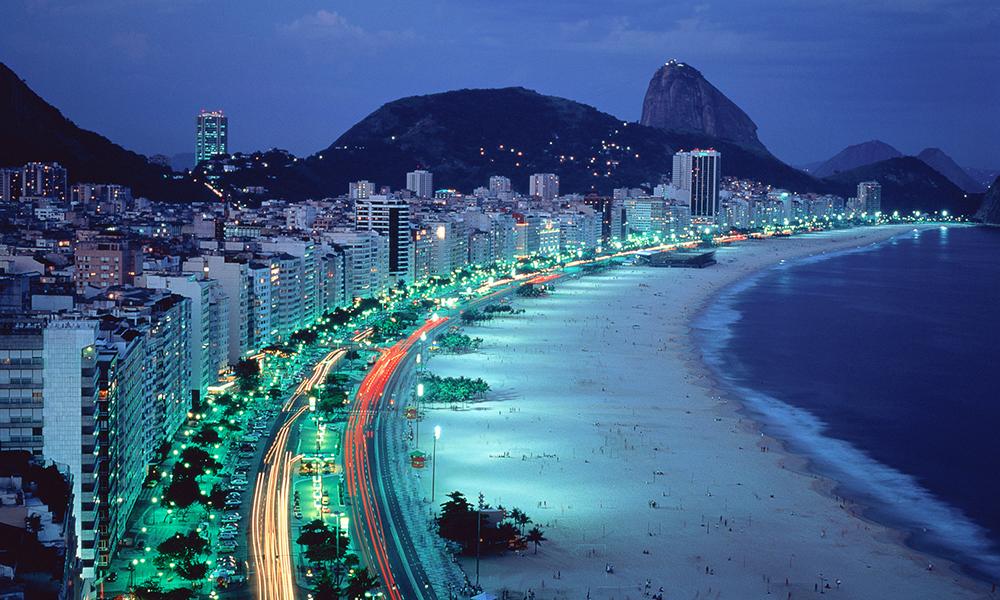Копакабана, Бразилія