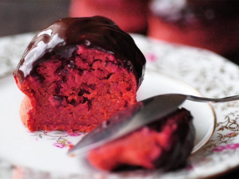 шоколадні кекси з буряком