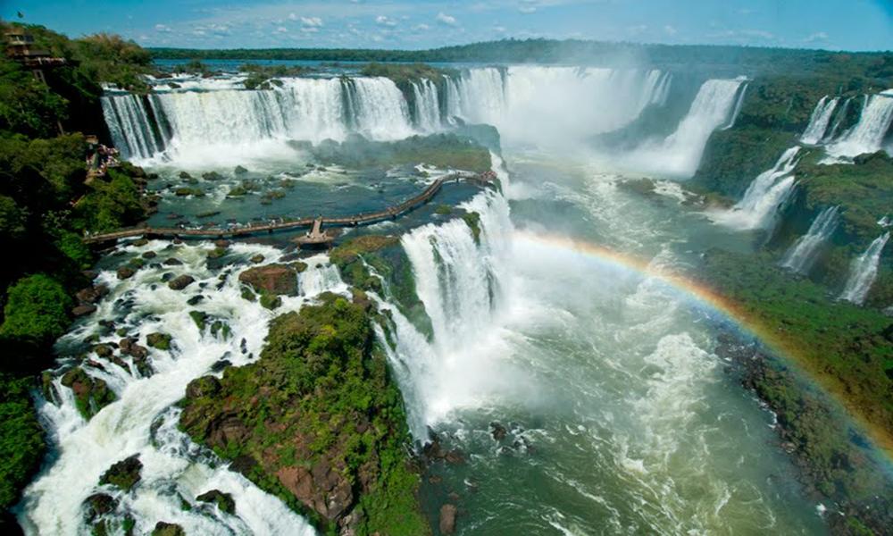 Водоспад Ігуасу, Бразилія