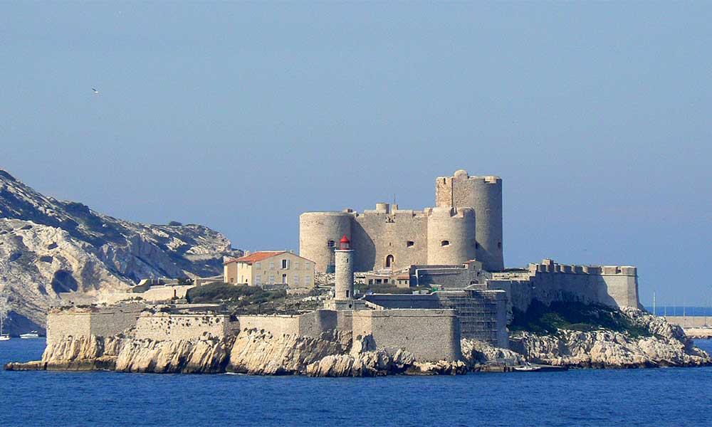 замок Іф, Марсель, Франція