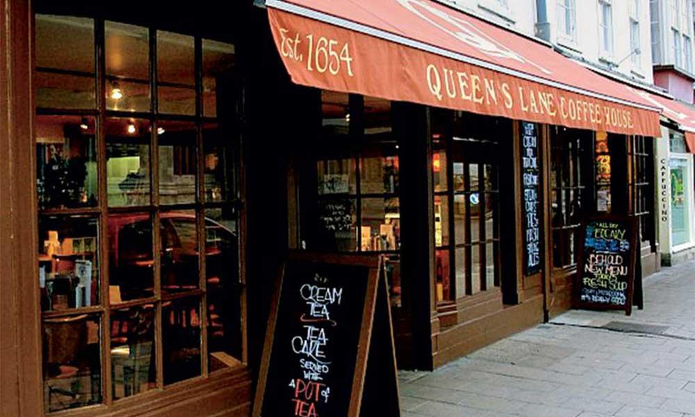 найстаріша кав'ярня Англії