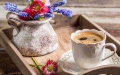 я пью черный кофе