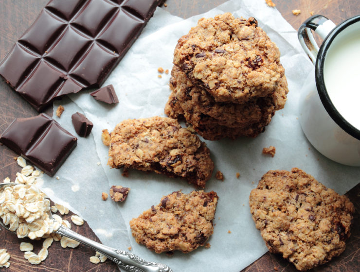 корисне вівсяне печиво